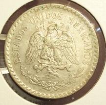 KM#455 1924 Silver Mexican Peso VF #019 image 6