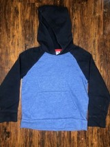 Old Navy Blue Boys Hoodie Size 6-7T Stretch - $3.80
