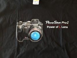 Powershot Pro 1 Power Of The Lens Canon T-Shirt camera vintage SLR - $15.38