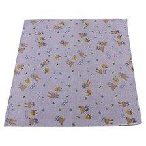 5 Pcs Cartoon Style Cotton Bibs Infant Handkerchief Baby's Wash Sweat Towel