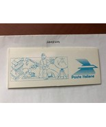 Italy Postal Centenary Booklet 1989    stamps - $19.95