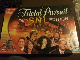 Trivial Pursuit SNL Saturday Night Live DVD Edition Board Game 30 Season... - $21.44