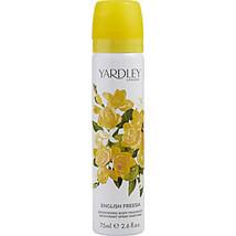 Yardley By Yardley English Freesia Body Spray 2.6 Oz - $17.00
