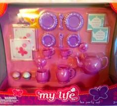 1 X My Life Tea Party Set - $30.10