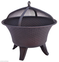 "28"" Bella Outdoor Patio Wood Fireplace Fire Pit... - $269.00"