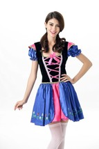 Halloween German Oktoberfest Costume Alice Princess Dress Tutu Skirt - $31.20