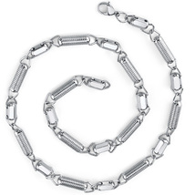Stainless Steel Coiled Link Chain - $49.99