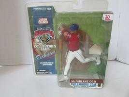Mcfarlanes MLB Jason Giambi Collectors Club Figura Exclusivo 2002 L227 - $11.74