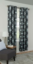 "Mainstays Grey Medallion Grommet Window Curtain Panel 42"" x 84"" - $19.79"
