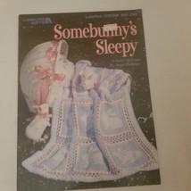 Somebunny's Sleepy 6 Baby Afghans Leisure Arts 2938 VTG - $7.68