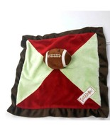 Babies R Us Football Touchdown Lovey Blanket Baby Plush Crinkle Sports #A7 - $16.58