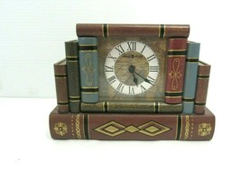 Howard Miller 645-421 Jewelry Box Book Table or Desk Clock - $29.65
