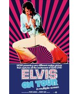 "Elvis Presley ""Elvis On Tour"" Stand-Up Display - Concert Movie Memorabil... - $15.99"
