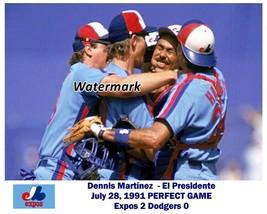 MLB 1991 Dennis Martinez El Presidente Montreal Expos Perfect Game 8 X 1... - $6.99