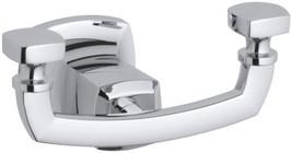 KOHLER K-16256-CP Margaux Robe Hook, Polished Chrome - $94.01