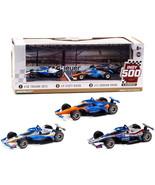 2020 Indianapolis 500 Podium Set of 3 IndyCars 1/64 Diecast Model Cars b... - $49.20