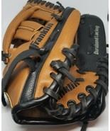 "Franklin Baseball Glove Youth, RHT 4609 Ready To Play 9.5"" Leather EUC - $11.00"