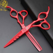 MrTiger® Japan 5.5/6.0 Hot Professional Hairdressing Scissors Barber Hai... - $19.19+