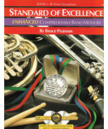 Standard of Excellence ENHANCED: Tenor Sax - Book 1 With CD  (Older Edit... - $4.89