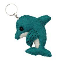 Felt Dolphin Key Chain - $15.00