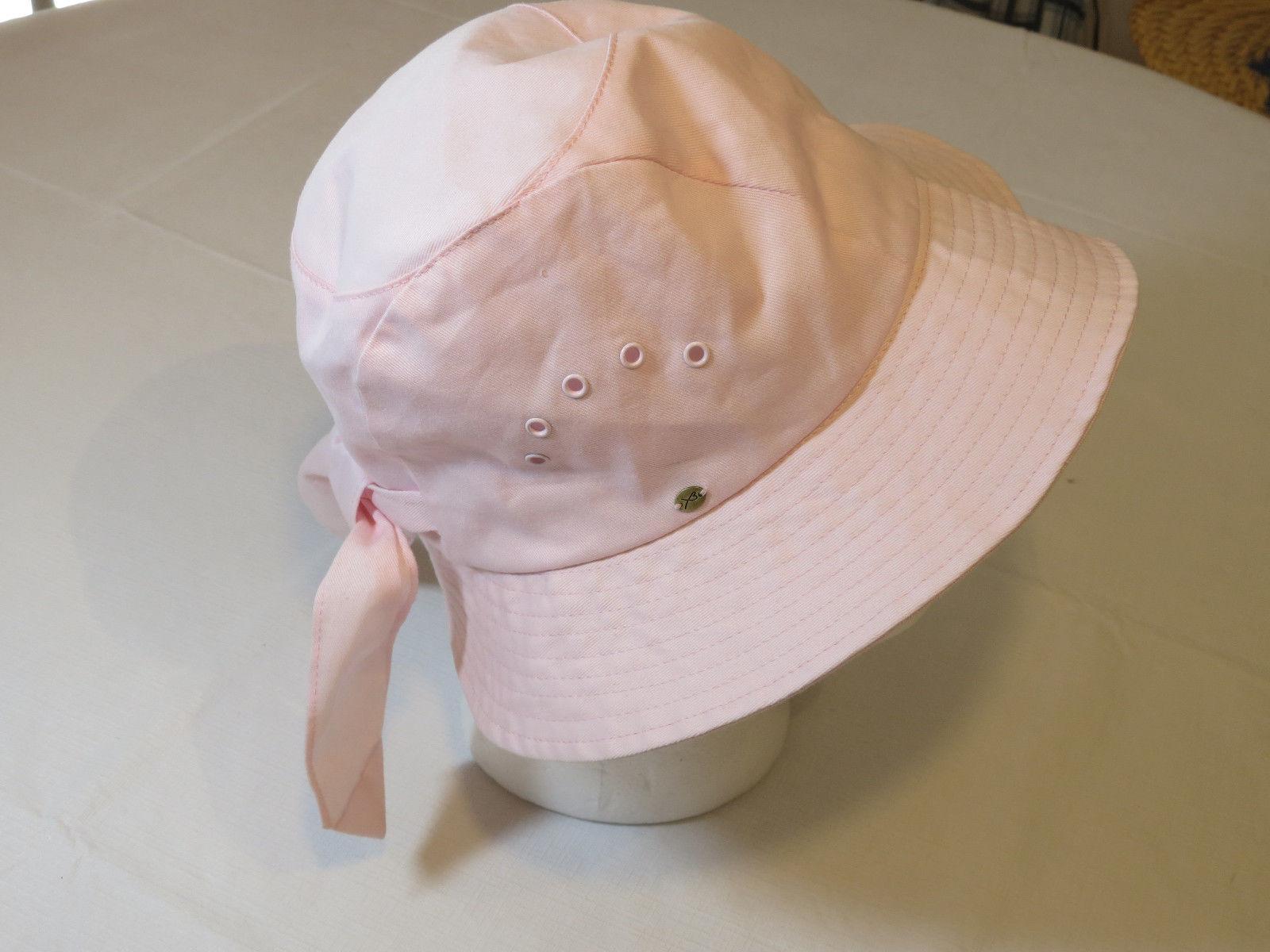 watch f7eb7 62068 X3 Etmar New York Pink ladies bucket floppy Sun Hat womens hat cap EUC one  size