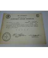 Vintage United States Air Force Extension Course Institute University 30... - $20.78
