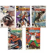 Marvel Web Of Spider-Man Lot Issues #1-5 Dr. Ock  Vulture Peter Parker A... - $34.95