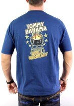 NEW TOMMY BAHAMA MEN'S PREMIUM GRILL SERGEANT CREW NECK COTTON T-SHIRT SIZE S