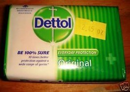12 BARS! Dettol Original Bar Soap 70grams Each Fight Germs USA SELLER FA... - $20.00