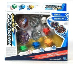 Hasbro Beyblade Burst Odax 02 Valtryek V2 Apex Attack Pack Age 8 Years & Up - $33.99