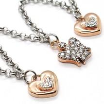 Silver Bracelet 925, Heart Angel, Zircon, Roberto Giannotti, GIA333 image 2