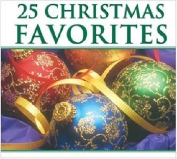 25 Christmas Favorites by 101 Strings Orchestra Cd