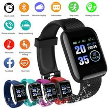 1.3-inch Smart Band Weather Display Blood Pressure Heart Rate Monitor Fi... - $28.79