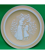 1979 Franklin Fine Parian Porcelain Mother's Day Collector Plate - $6.95