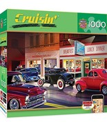 MasterPieces Cruisin' Route 66 Jigsaw Puzzle, Phil's Diner, Featuring Ar... - $10.71