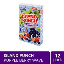 Wyler's Light Island Punch Singles To Go, Purple Berry Wave, 10-Count Bo... - $22.12