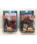 Marvel Legends Wonder Man & Vengeance Legendary Rider Series - Toy Biz 2... - $29.03
