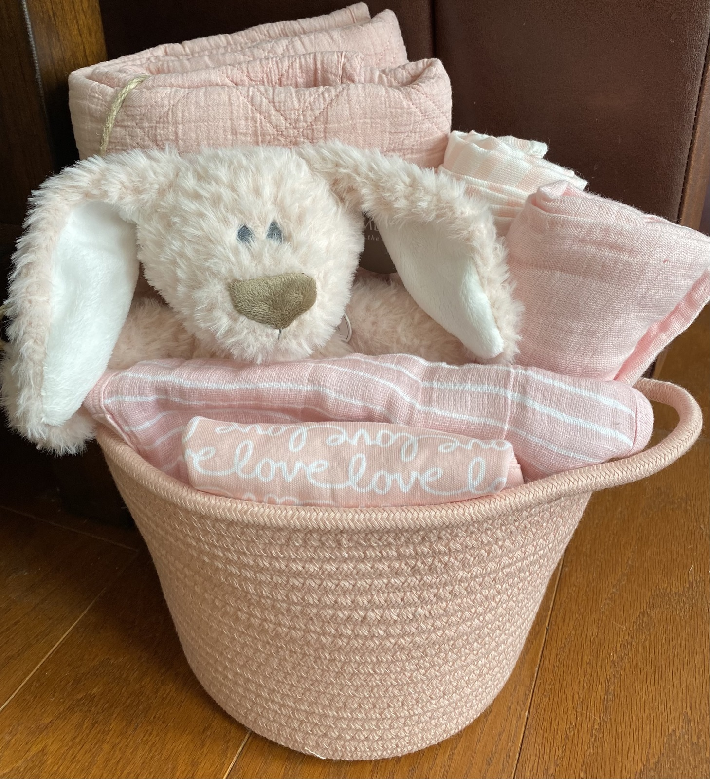 Primary image for Belina Bunny Baby Gift Basket