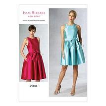 Vogue Patterns V1434E50  Misses' Dress and Belt Sewing Template, Size E5... - $6.81