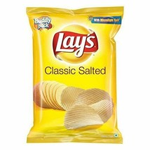 Lays Lay's India's Classic Salt 52 grams Pack 1.83 oz Potato Chips Wafer... - $5.99+