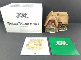 Department 56 Vintage Dept 56 Dickens' Village series Cobb Cottage #5824-6 - $23.27