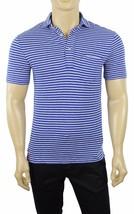 New Polo Ralph Lauren Blue White Striped Chest Pocket Jersey Polo Shirt Xs $85 - $37.99