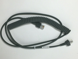 Motorola Symbol Barcode Scanner Synapse Cable CBA-S03-C09ZAR 9ft Coiled  - $9.85