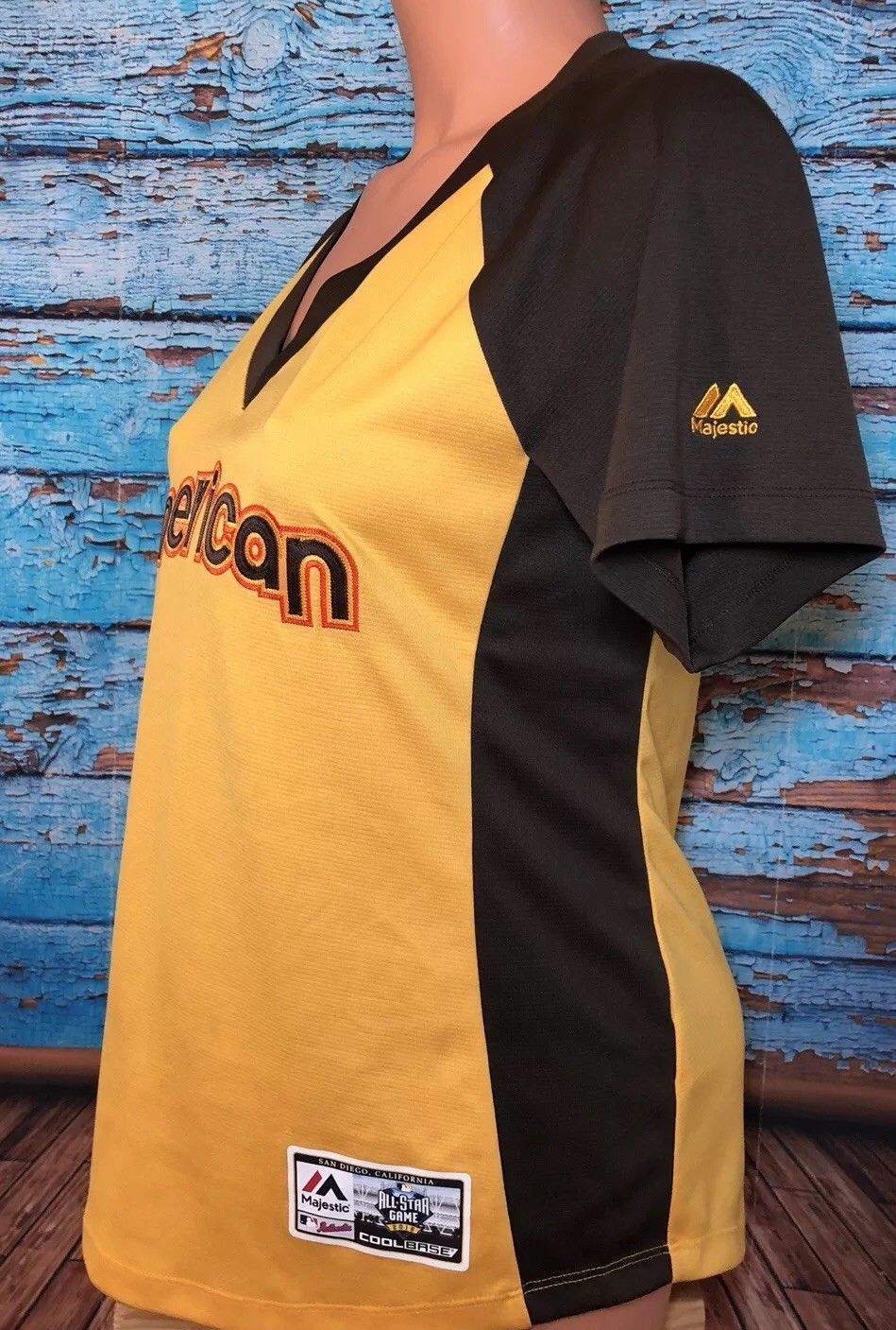 2016 MLB All-Star Game American League Jersey Women's Medium San Diego M Shirt
