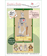 Once Upon A Stitch: The Tin Woodman cross stitch chart Brooke's Books - $5.40
