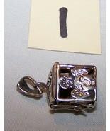 Sterling Silver Prayer Box w/Angels w/Children-Lot 1-1 inch tall, 1/2 inch  - $14.50