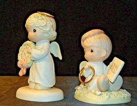 1997 and 1998 Precious Figurines Moments AA-191837 Vintage Collectible image 2