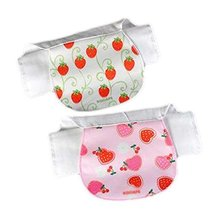 Lovely Baby Soft Cotton Gauze Towels 2 Pcs Sweat Absorbent Washcloths Mat Towels