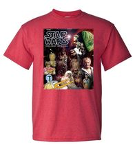Star wars holiday special 70 s 80 s tshirt for sale online graphic tee thumb200