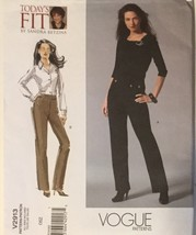 Vogue V2913 Misses' Today's Fit Pants by Sandra Betzina Size: OSZ  (A-J)    - $10.99